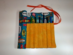 Boy's Pencil Roll from Joy's Fabric