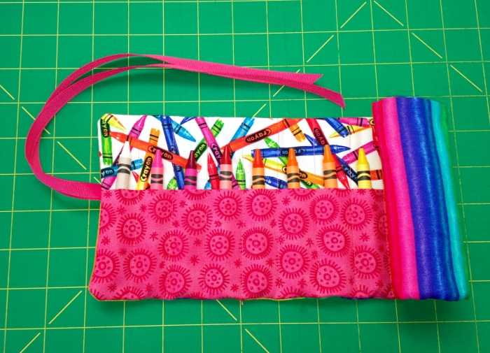 Girls Crayon Roll