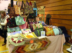 Tote Bags, Quilts, and Pillows