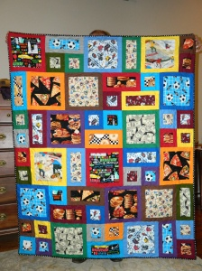 Scott's All About Me Quilt