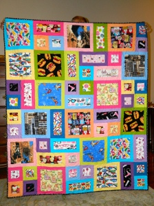 Kirsten's All About Me Quilt