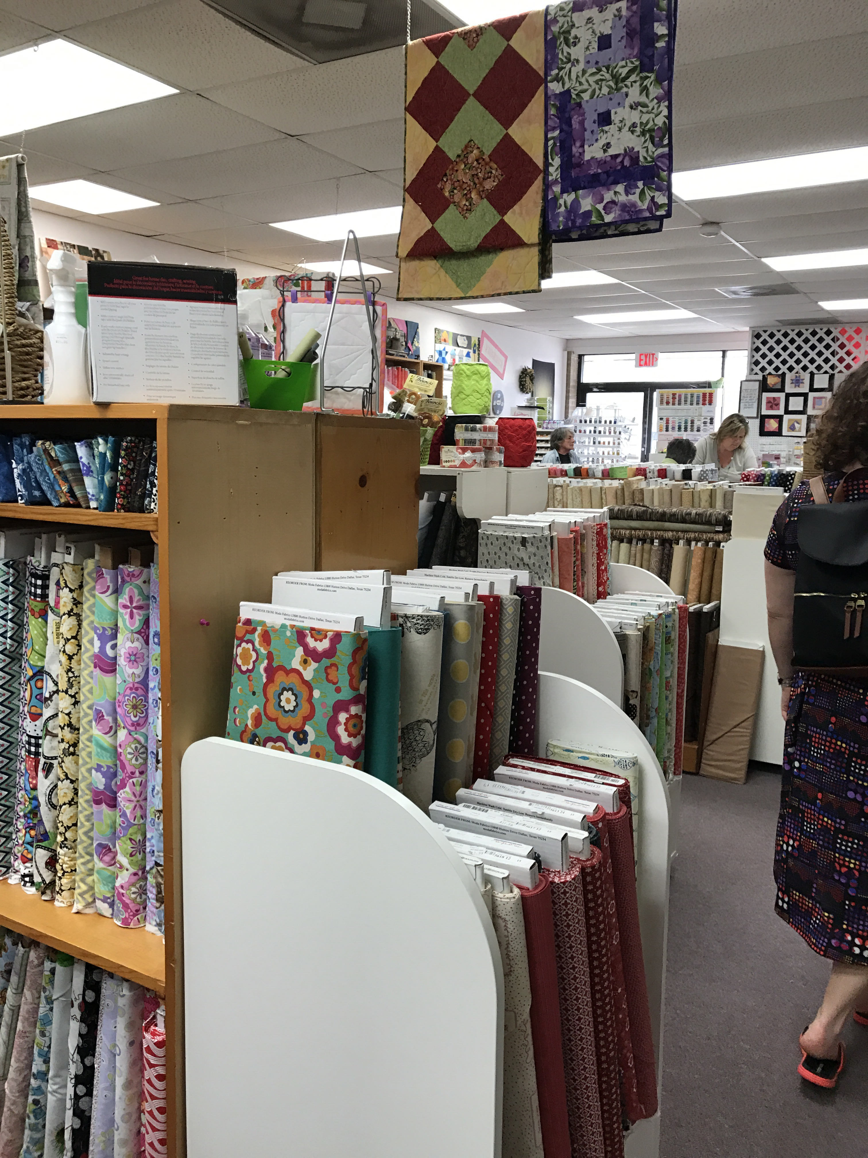 Quilt Shop Review Sew Much More Garden City Ga Pink Robin Studio